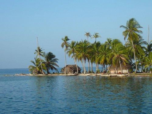 One of the San Blas islands