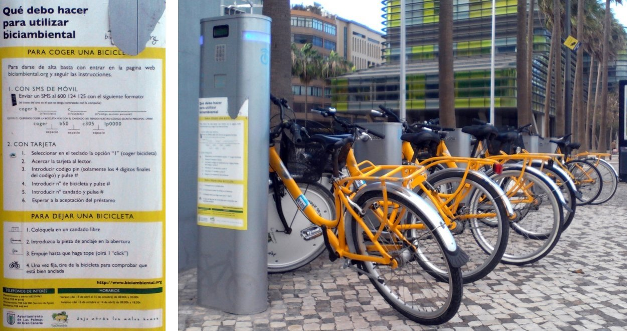 Bike rental at Torre Woermann